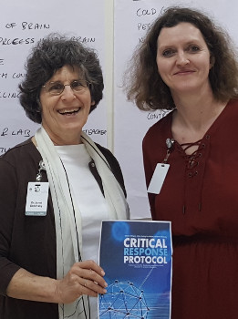 Dr. Jan Dubinsky and Dr. Gill Roehrig