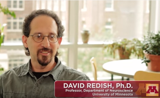 Dr. David Redish, UMN Med School